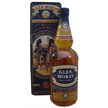 Glen Moray 16 Year Old The Black Watch Single Malt Whisky