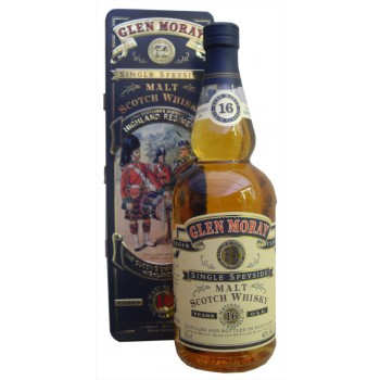 Glen Moray 16 Year Old Queen's Own Cameron Highlanders Single Malt Whisky