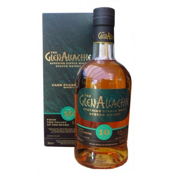 Glenallachie 10 Year Old Cask Strength Single Malt Whisky