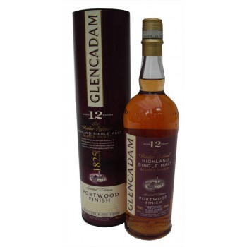 Glencadam 12 Year Old Portwood Finish Single Malt Whisky