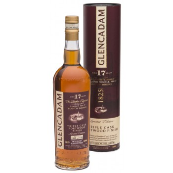 Glencadam 17 Year Old Triple Cask Port Finish Single Malt Whisky