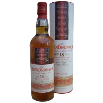 Glendronach 18 Year Old Marsala Finish Single Malt Whisky