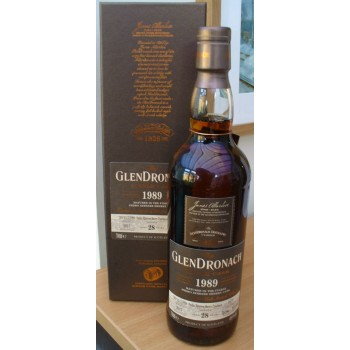 Glendronach 1989 28 Year Old Single Malt Whisky