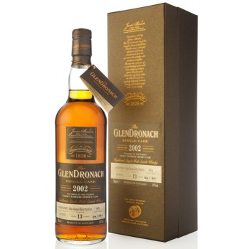 Glendronach 2002 13 Year Old Release 13 Single Malt Whisky