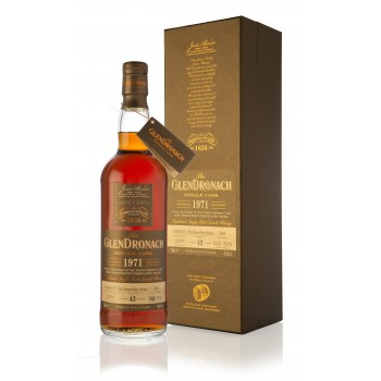 Glendronach 1971 43 Year Old Single Cask Batch 11 Single Malt Whisky