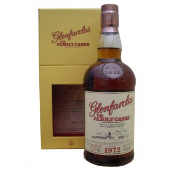 Glenfarclas 1972 Family Cask Single Malt Whisky