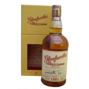 Glenfarclas 1981 Family Cask Single Malt Whisky