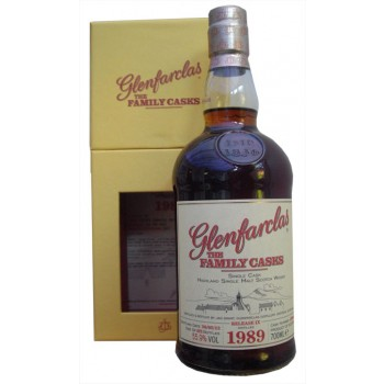 Glenfarclas 1989 Family Cask Single Malt Whisky