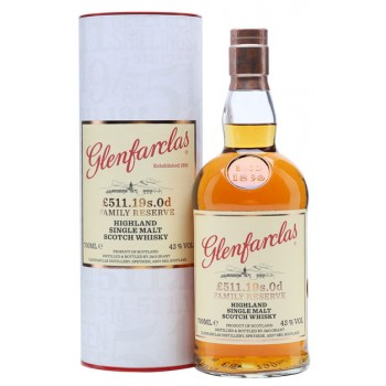 Glenfarclas £511 19s 0p Single Malt Whisky