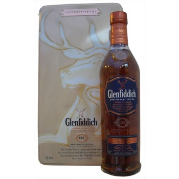 Glenfiddich 125th Anniversary Edition Single Malt whisky