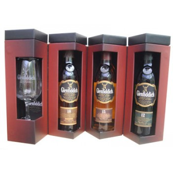 Glenfiddich Explorers 20cl Quad Pack Single Malt Whiskies
