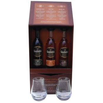 Glenfiddich Family Distillers Collection 3 x 10cl Gift Pack