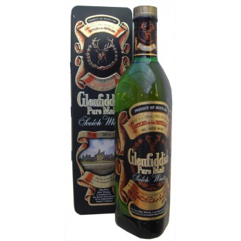 Glenfiddich In Square Tin Single Malt Whisky