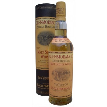 Glenmorangie 10 Year Old Tubed Single Malt Whisky
