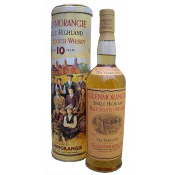 Glenmorangie 10 Year Old '16 Men of Tain' Embossed Tin Single Malt Whisky