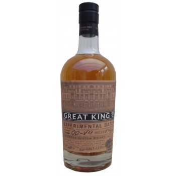 Compass Box Great King Street Experiment Batch 2 Light Sherry Blended Scotch Whisky