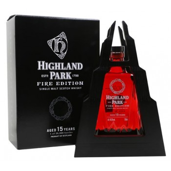Highland Park 15 Year Old Fire Single Malt Whisky