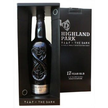 Highland Park 17 Year Old The Dark Single Malt Whisky