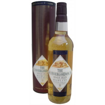 Invergordon 10 Year Old Single Grain Whisky
