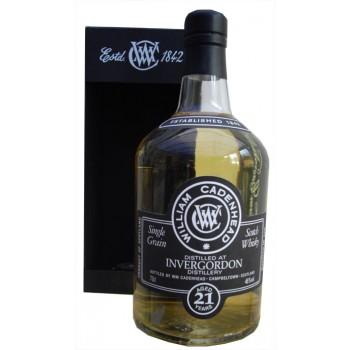 Invergordon 1991 21 Year Old Single Grain Whisky