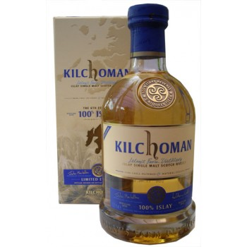 Kilchoman 100% Islay 6th Release Single Malt Whisky