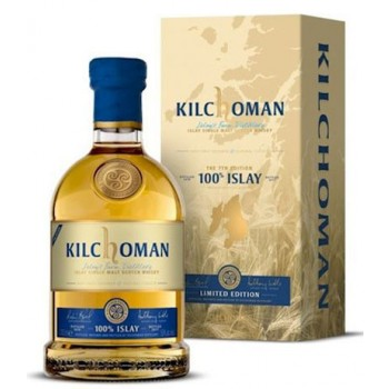 Kilchoman 100% Islay 7th Release Single Malt Whisky