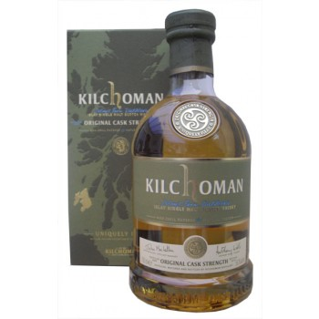Kilchoman 2009 Original Cask Strength 59.2% Single Malt Whisky
