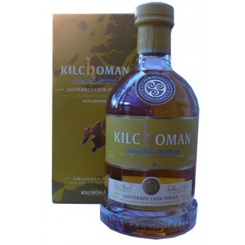 Kilchoman Sauternes Cask Finish 2018 Edition Single Malt Whisky