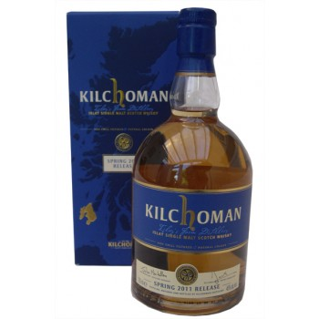 Kilchoman Spring Release 2011 Single Malt Whisky