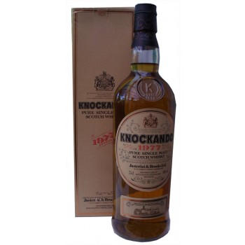 Knockando 1977 Single Malt Whisky
