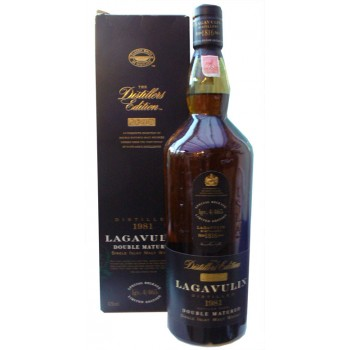 Lagavulin 1981 Distillers Edition 1 Litre Single Malt Whisky