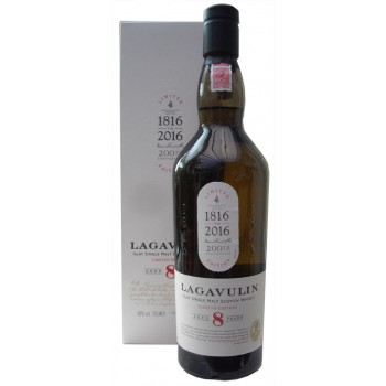 Lagavulin 8 Year Old 200th Anniversary Limited Edition Single Malt Whisky