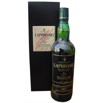 Laphroaig 25 Year Old 2014 Release Cask Strength Edition Single Malt Whisky