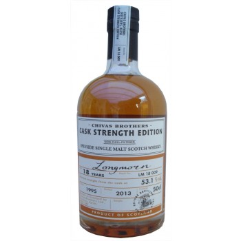 Longmorn 1995 18 Year Old 50cl Single Malt Whisky