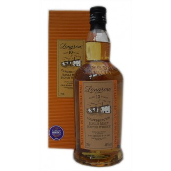 Longrow 10 Year Old Single Malt Whisky