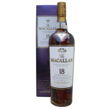 Macallan 1993 18 Year Old Single Malt Whisky