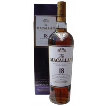 Macallan 1997 18 Year Old Single Malt Whisky