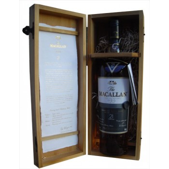 Macallan 21 Year Old Fine Oak Single Malt Whisky