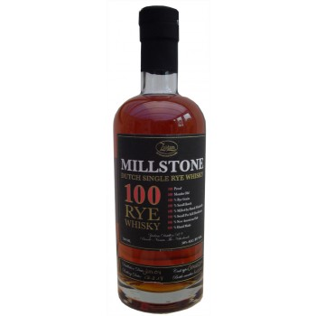Millstone 8 Year Old 100 Proof American Oak Single Rye Whisky