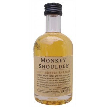 Monkey Shoulder Blended Malt Whisky 5cl