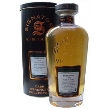 Mosstowie 1979 36 Year Old Single Cask Single Malt Whisky