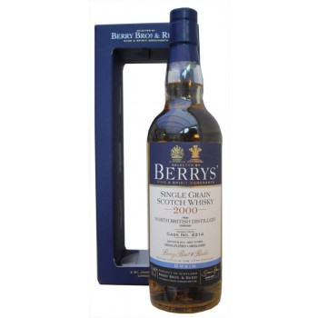 North British 2000 13 Year Old Single Grain Whisky