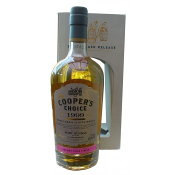 Port Dundas 1999 17 Year Old Brandy Cask Finish Single Grain Whisky