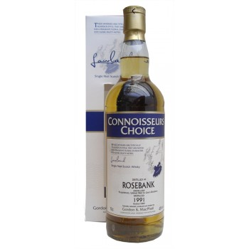 Rosebank 1991 09 Bottling Connoisseurs Choice Single Malt Whisky