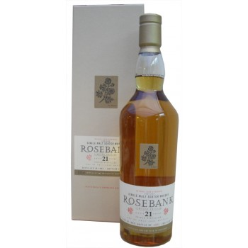 Rosebank 1992 21 Year Old Single Malt Whisky