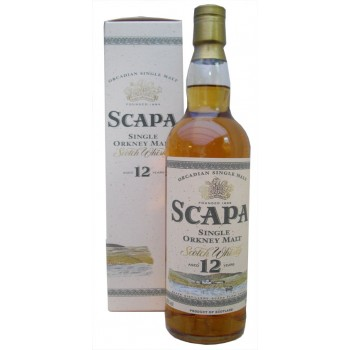 Scapa 12 Year Old Single Malt Whisky