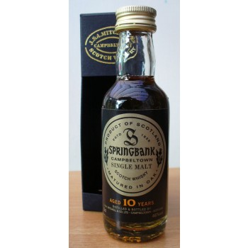 Springbank 10 Year Old 5cl Single Malt Whisky