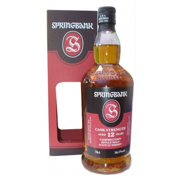 Springbank 12 Year Old Cask Strength 2017 2nd Release Single Malt Whisky