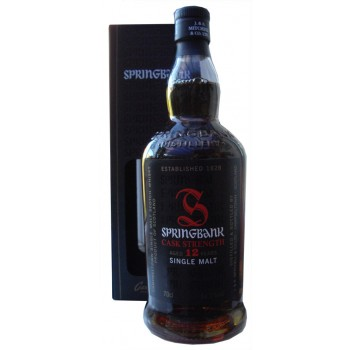 Springbank 12 Year Old Cask Strength 2016 Release Single Malt Whisky