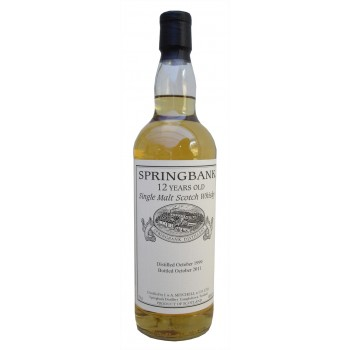 Springbank 1999 12 Year Old Single Malt Whisky